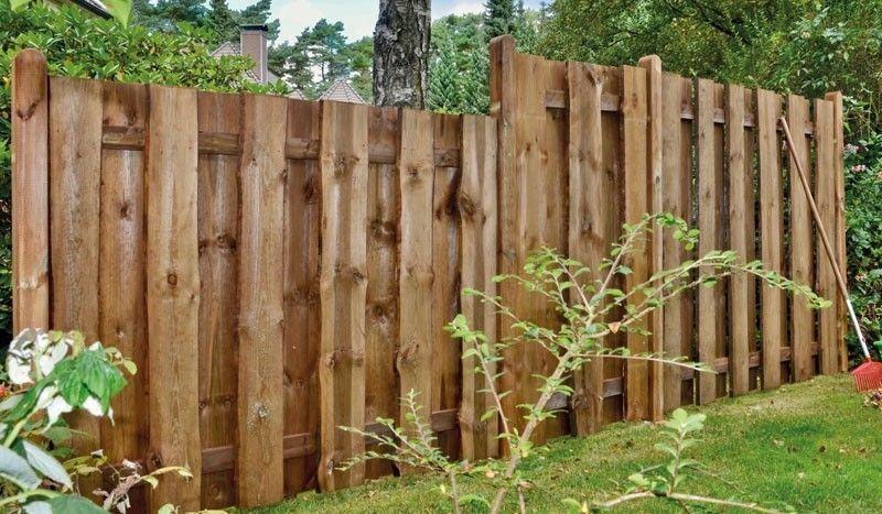 Der Kolding Bohlenzaun wird aus sägerauhen Bonanzabrettern gefertigt, ist druckimprägniert braun und ein langlebiger Zaun der Ihnen viel Freude bereitet #zaunideen