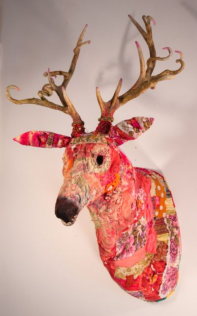 Fabric and Paper Sculptures - Linda Hall