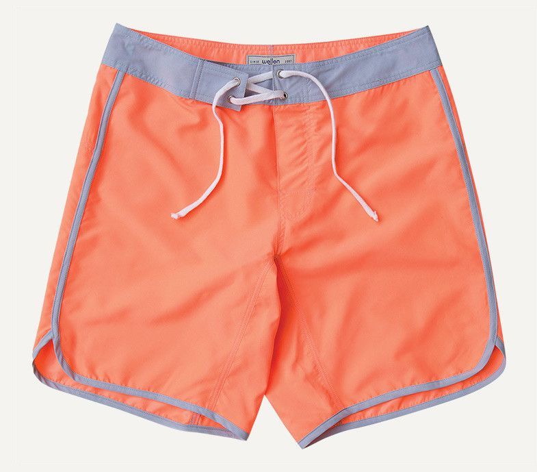 "Scallop Swim Shorts - 9"" Inseam"