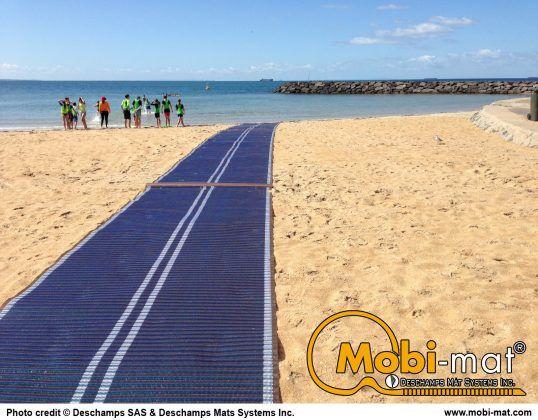 Mobi Mat Beach Access Mat Beach Bay City Outdoor