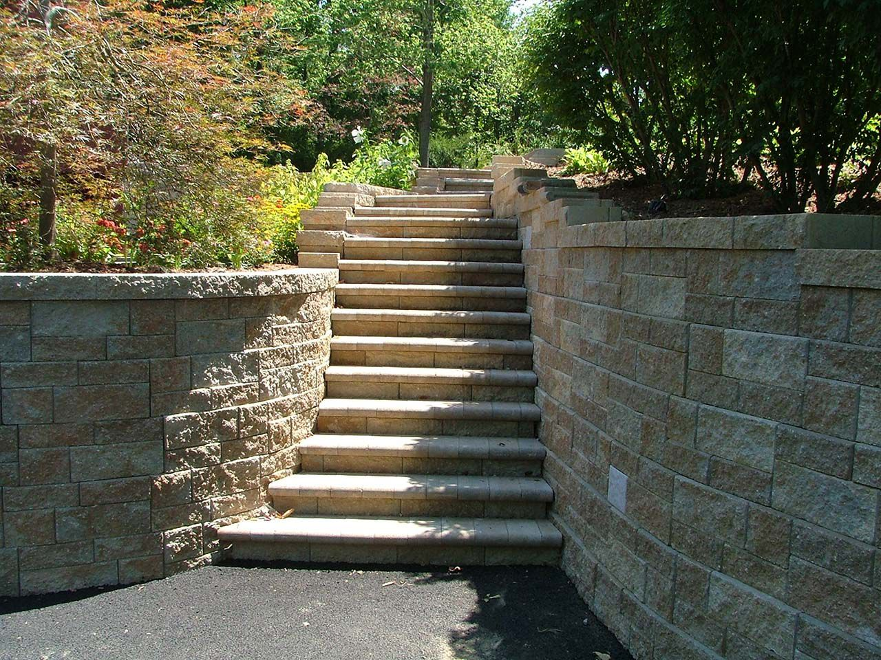 retaining wall blocks steps with images retaining wall on retaining wall blocks id=19921
