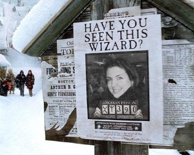 Last seen with Ronald Bilius Weasley.
