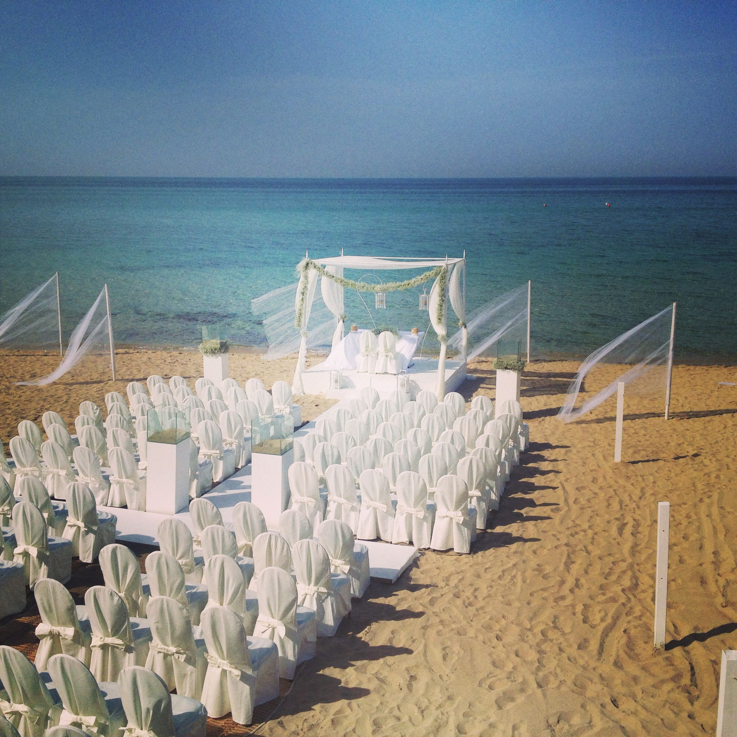 Beach Wedding Ceremony Michigan: Beach Wedding In Puglia Salento By Masseria Torre Coccaro
