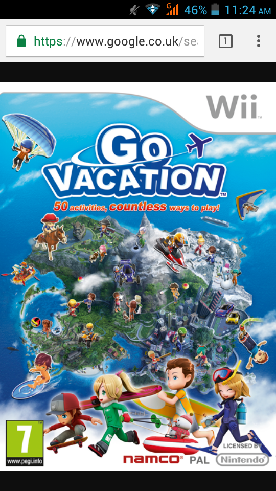 Anyone Remember This Game. Or Just Me? Vacations to go
