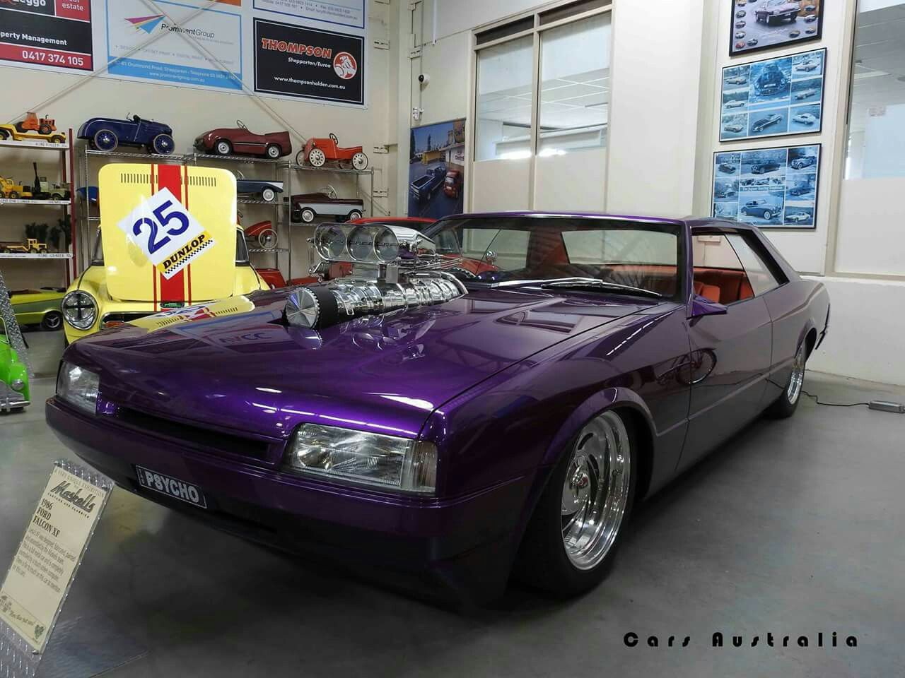 Psycho Xf Falcon Coupe With Images Ford Motor Aussie Muscle