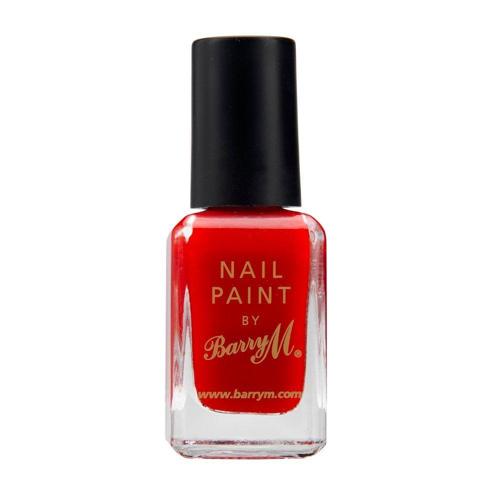 Shop Nail Polish Nail Art Accessories My Style Union Barry M Bright Red Nail Polish Www Mystyleunion Com Barry M Nails Nail Paint Nail Polish Painting