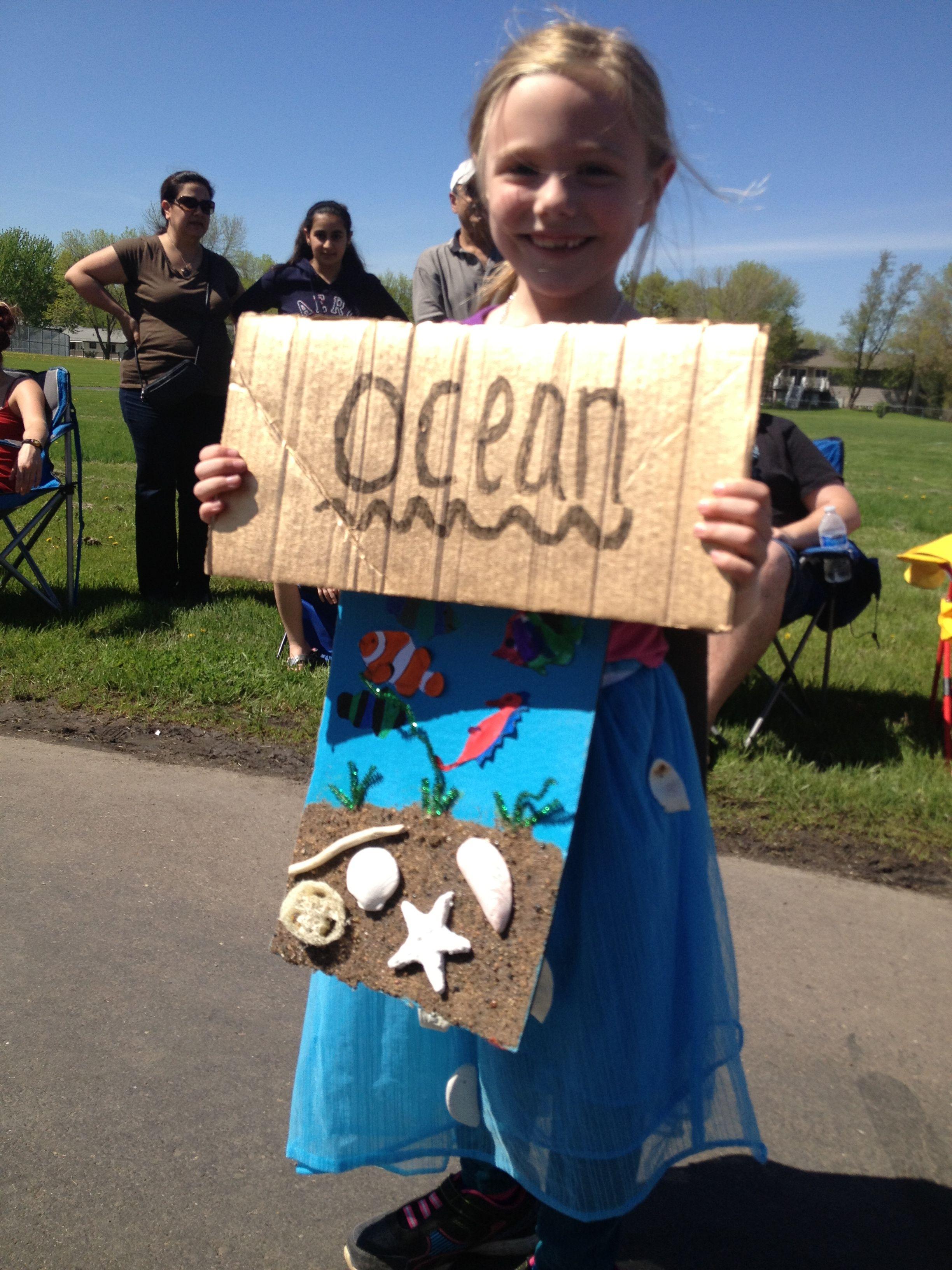 Beautiful Ocean Vocabulary Word Costume For Miss Alaineus