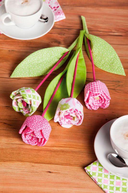 Anleitung: Blumenstrauß nähen | buttinette Blog | Ostern Patchwork ...
