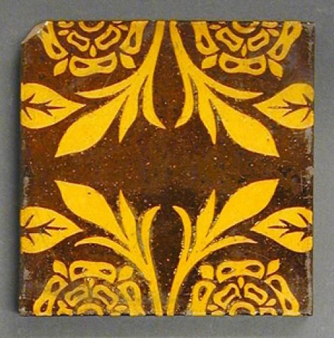 Rare 1880s Craven Dunnill And Co Islamic Inspired Majolica Etsy Art Nouveau Tiles Majolica Pottery Majolica