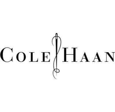 Fashion Logo Cole Haan Modern Serif Fluid Lines Graphic