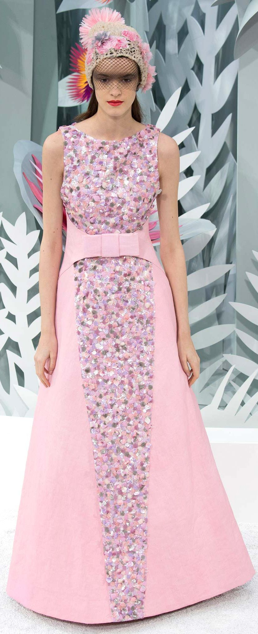 Spring 2015 Couture Chanel | PETAL PINK FASHION | Pinterest | Vestiditos