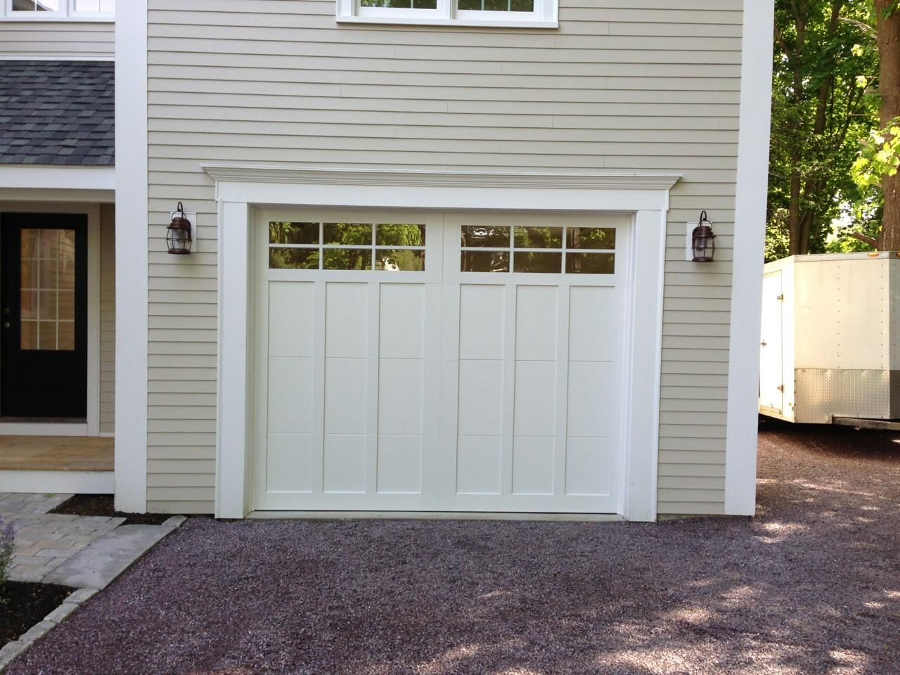 960 #726B3C Carriage House Garage Doors Steel Garage Modern Garage Steel Doors  picture/photo Steel Insulated Exterior Doors 40691280
