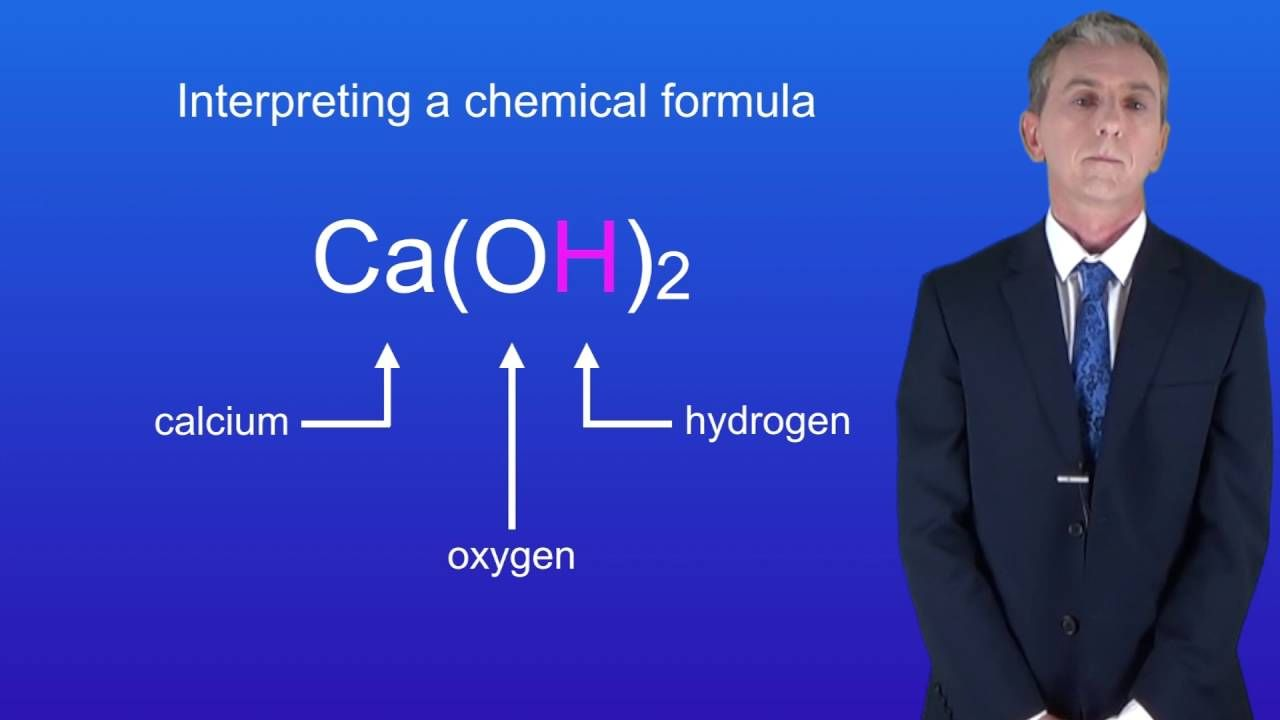 Gcse Science Chemistry 9 1 Interpreting A Chemical Formula Gcse Science Science Revision Chemical Formula