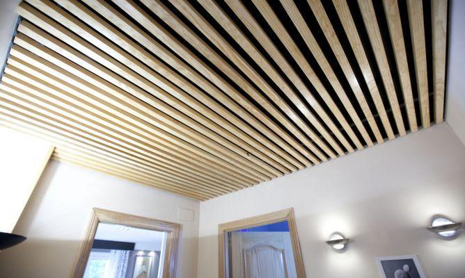Falso techo decorativo bricolaje pinterest - Hacer falso techo ...