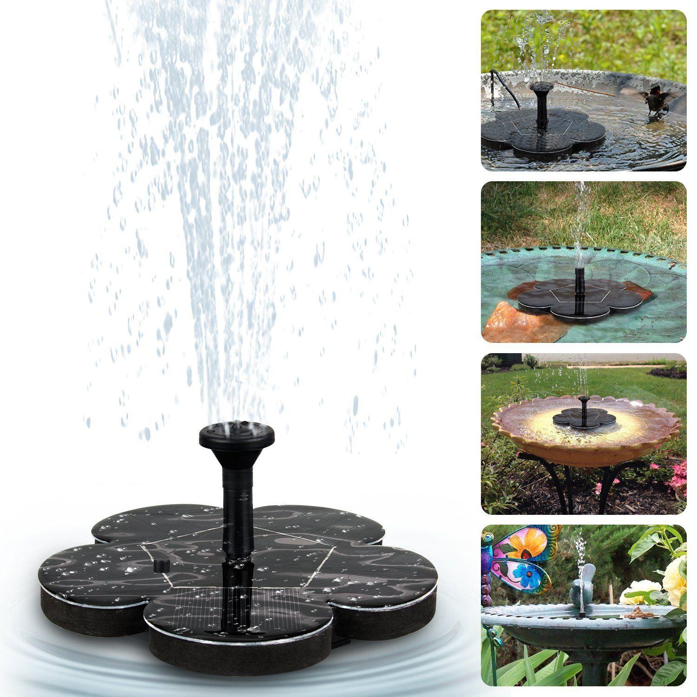 Solarspringbrunnen Springbrunnen Garten Brunnen Solarbrunnen Solarfontane Brunnen Ohne Strom Einfacher Bru Solarbrunnen Springbrunnen Solarbrunnen Garten