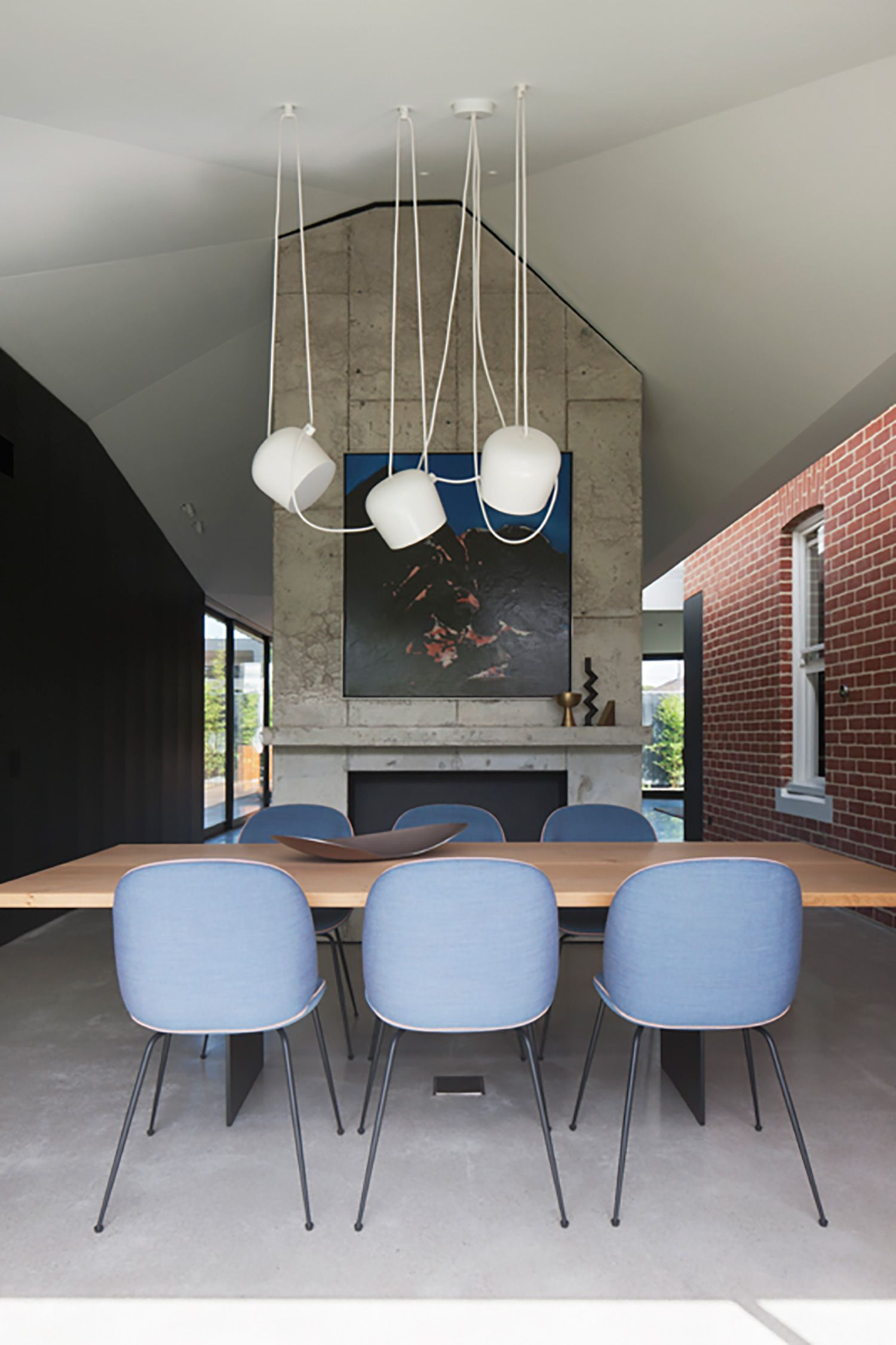 Dining room elsternwick house matt gibson architecture design and mim design est