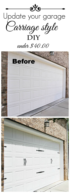 Carriage Style Garage Door Debbiedoos Diy Garage Door Carriage Style Garage Doors Garage Doors