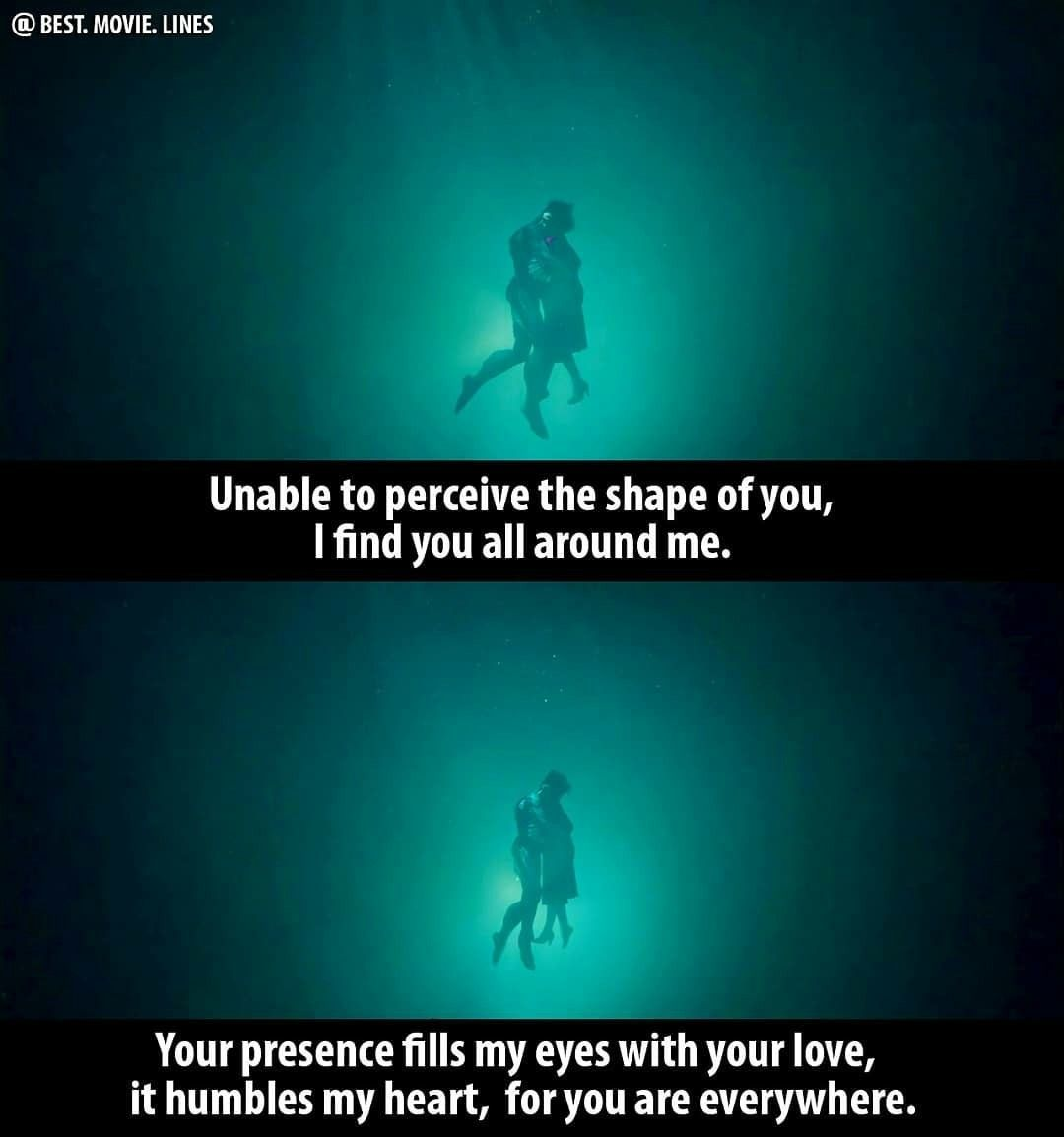 Ending Poem The Shape Of Water Movies The Shape Of Water