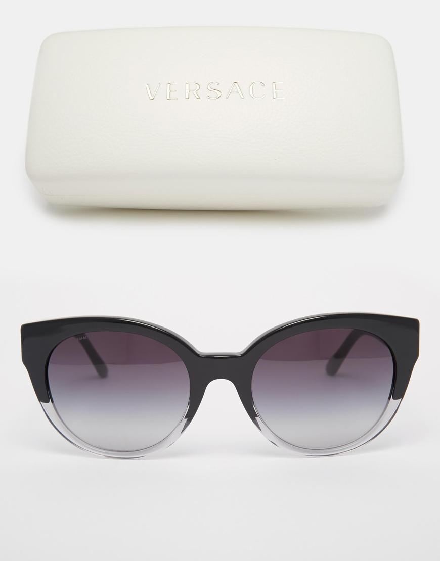Versace   Versace Cat Eye Sunglasses at ASOS
