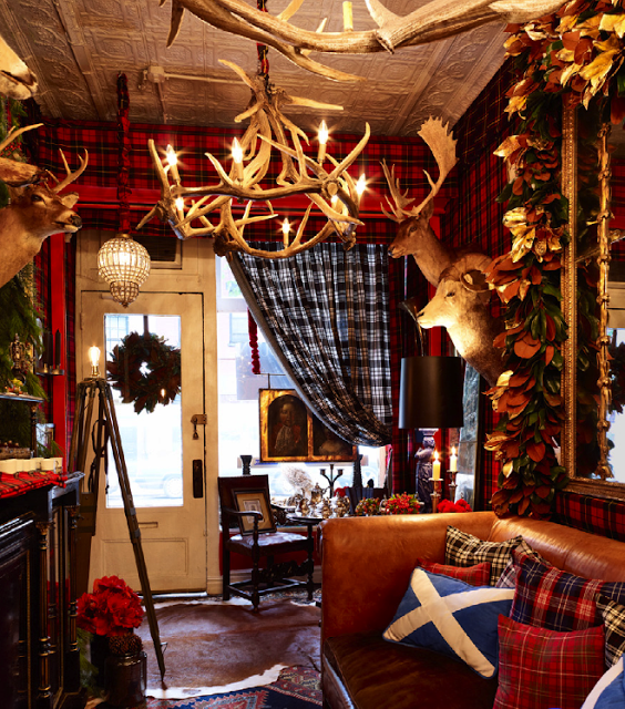 Lodge Room Design: Splendid Sass: CHRISTMAS BLISS ~ Hunting Lodge