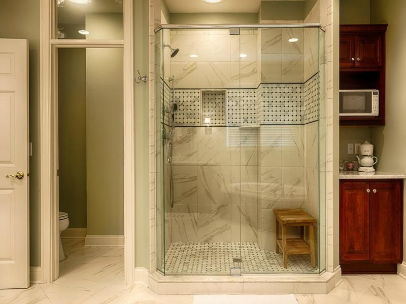Master Bath Showers Ideas Home Interior Design And Decoration