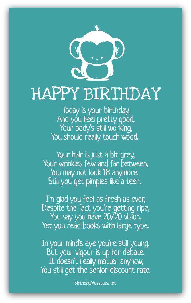 Cute Birthday Poems 7