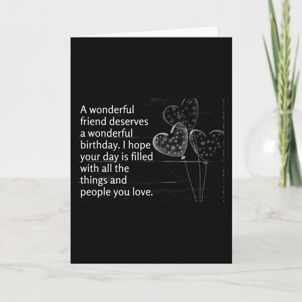 """**thinking Of You** On Your """"Birthday"""" Card Size: ' ', 5"""" x 7"""". Color: Matte. Gender: unisex. Age Group: adult."""
