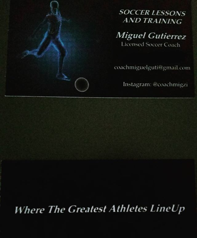New business cards are in! Now offering Soccer Lessons and ...