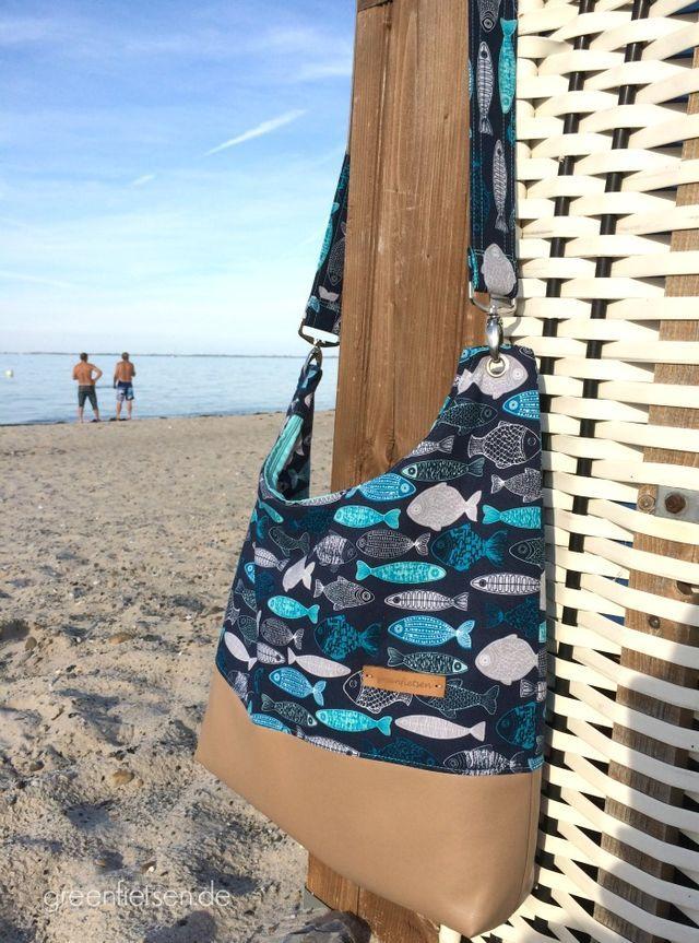Finalmente cosido: el AllesDrin, mi bolso de vacaciones del Báltico (greenfietsen.de)  – Bolsa