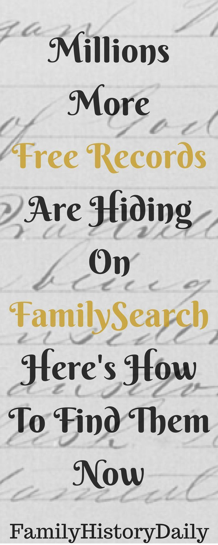 FamilySearch's Browse-Only Collections: The Hidden Records Many Miss #genealogy