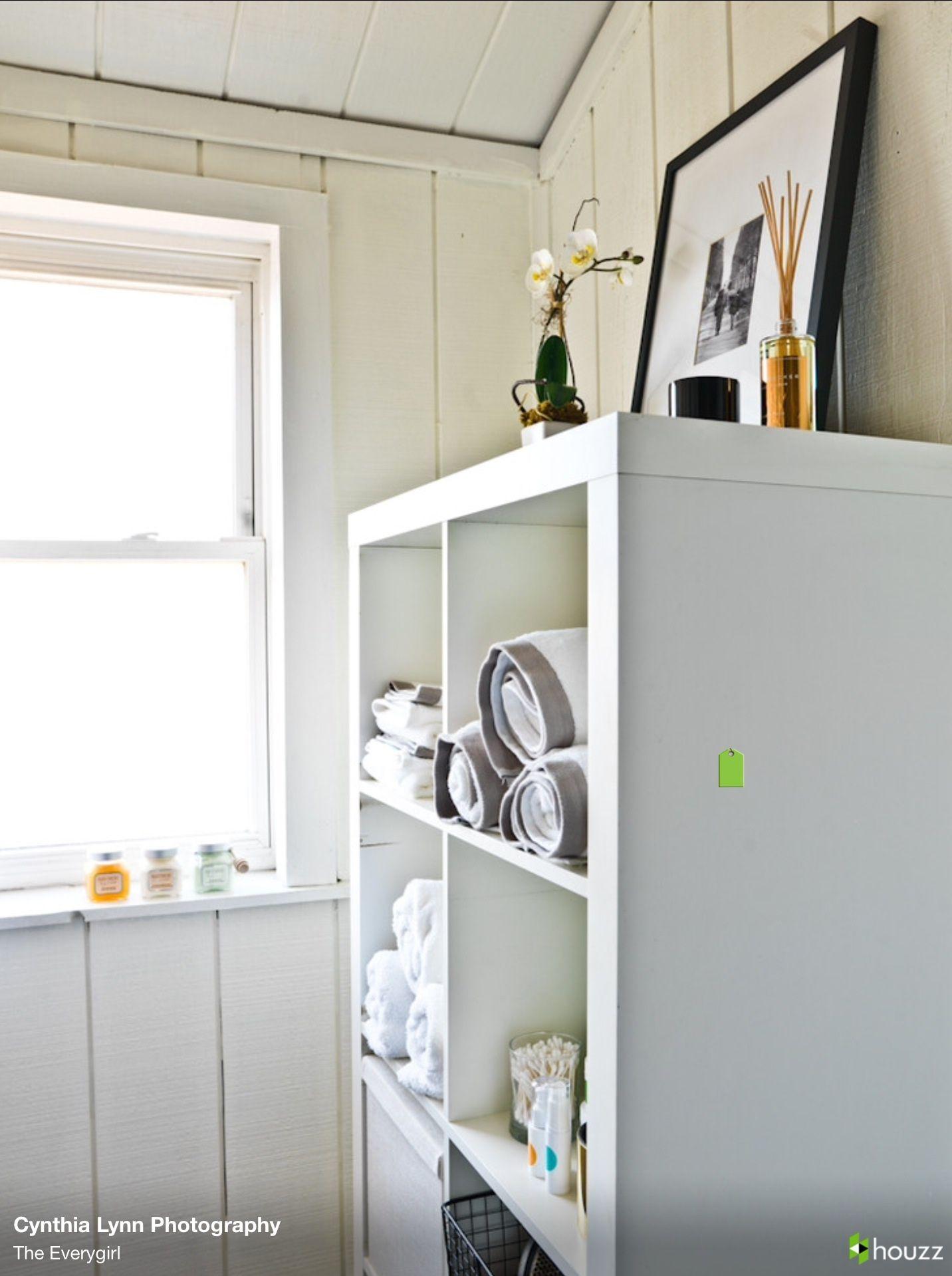 Ikea Small Bathroom Solutions: IKEA Bathroom Storage Solution