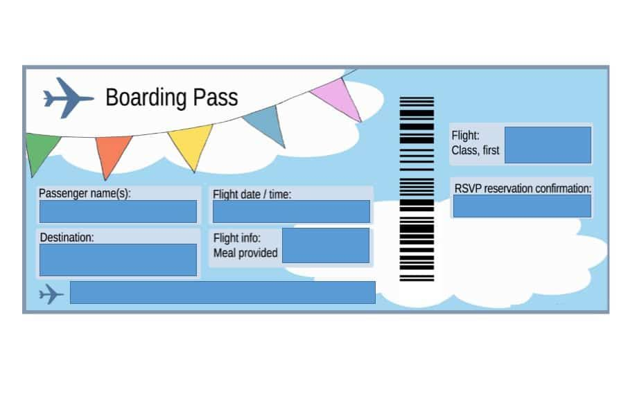 The boarding pass is an entry pass that if you do not have, you
