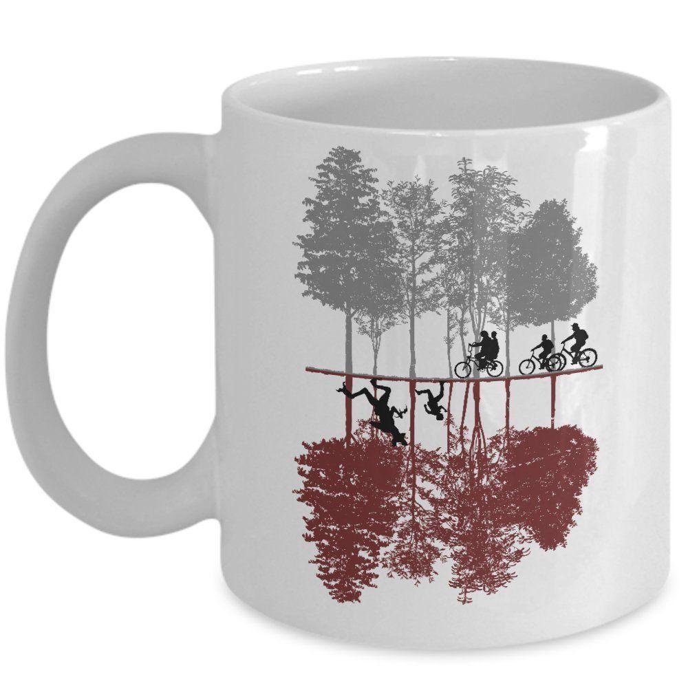 Awesome tv show mug the upside down coffee teacup