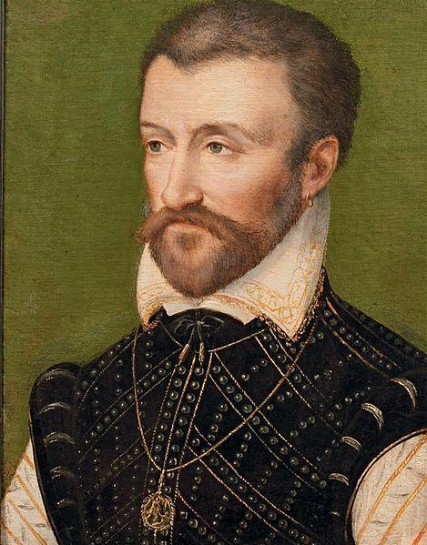 Circle of François Clouet - Portrait of a Gentleman