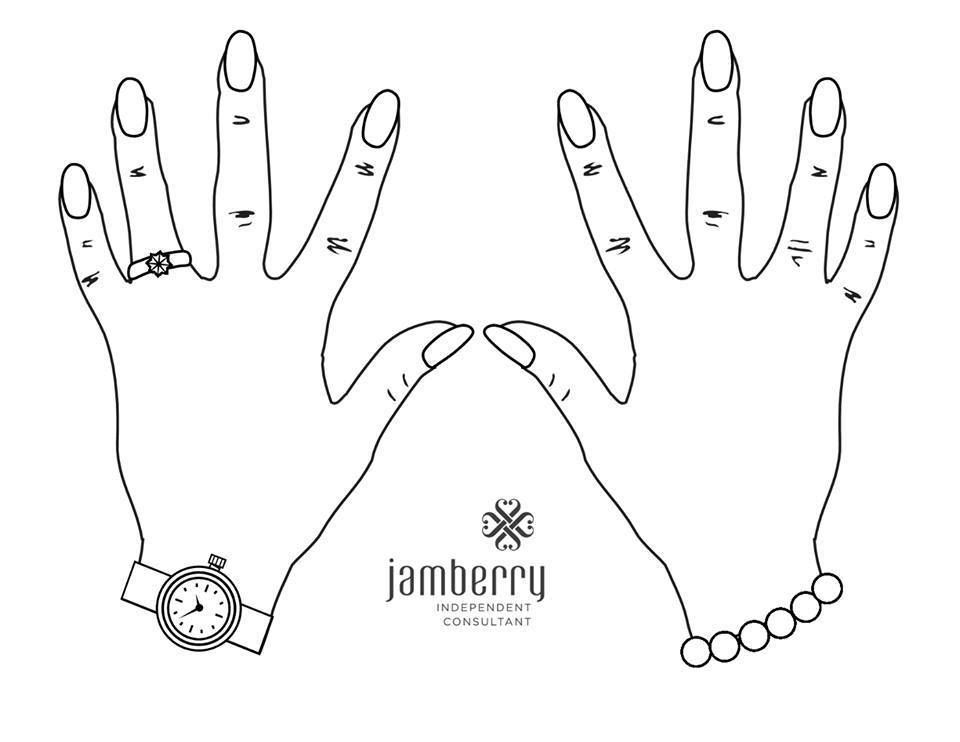 Blank Nails For Kids To Color Jamberry Party