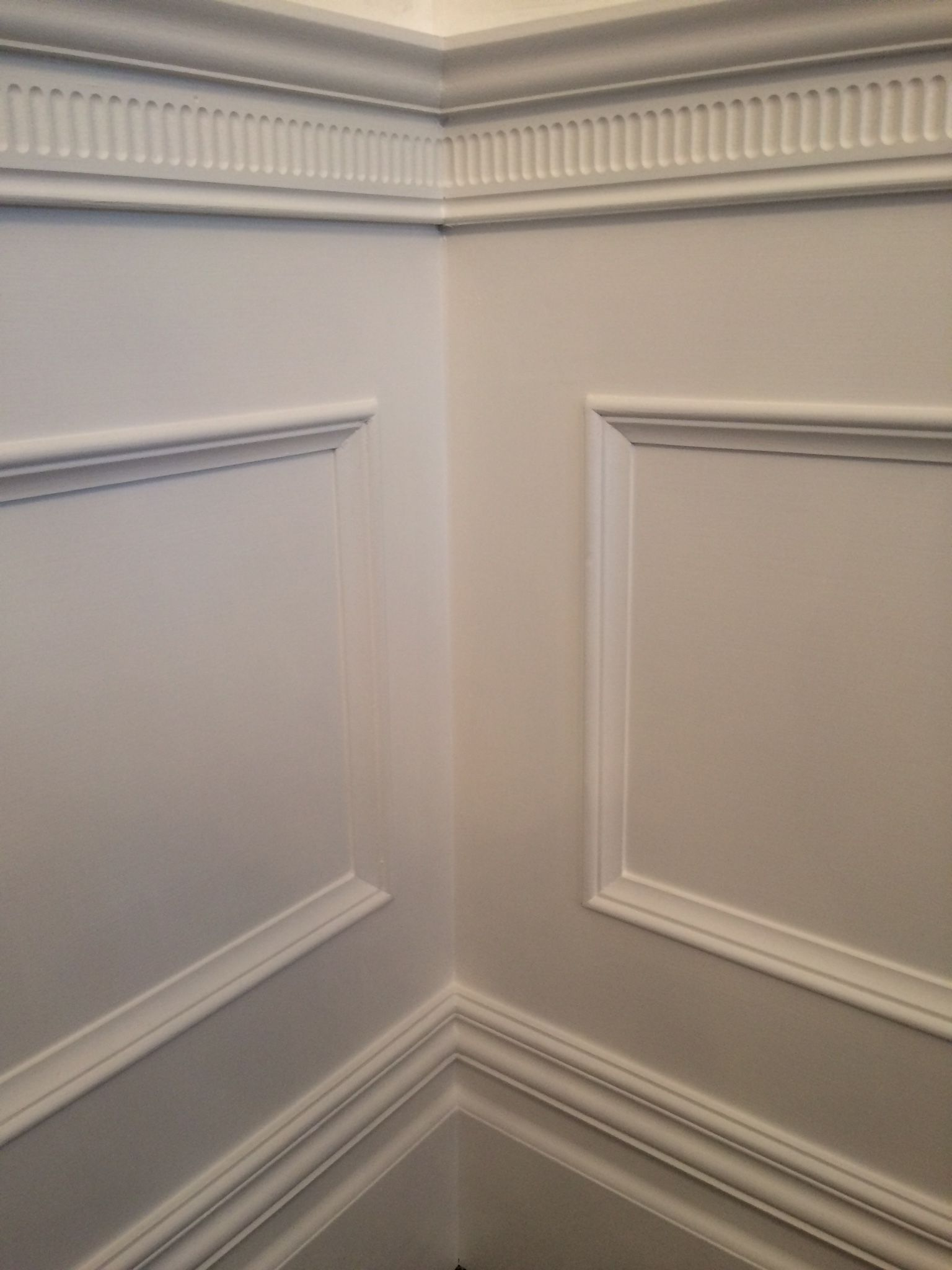 Close Up Of Beaded Panelling Wainscoting Stairs Diy Wainscoting Wainscoting