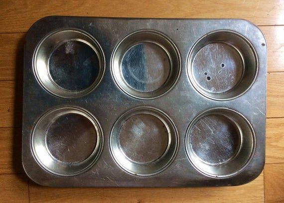 Vintage Miniature Cake Pan Aluminum Cake Pan For Baking 6