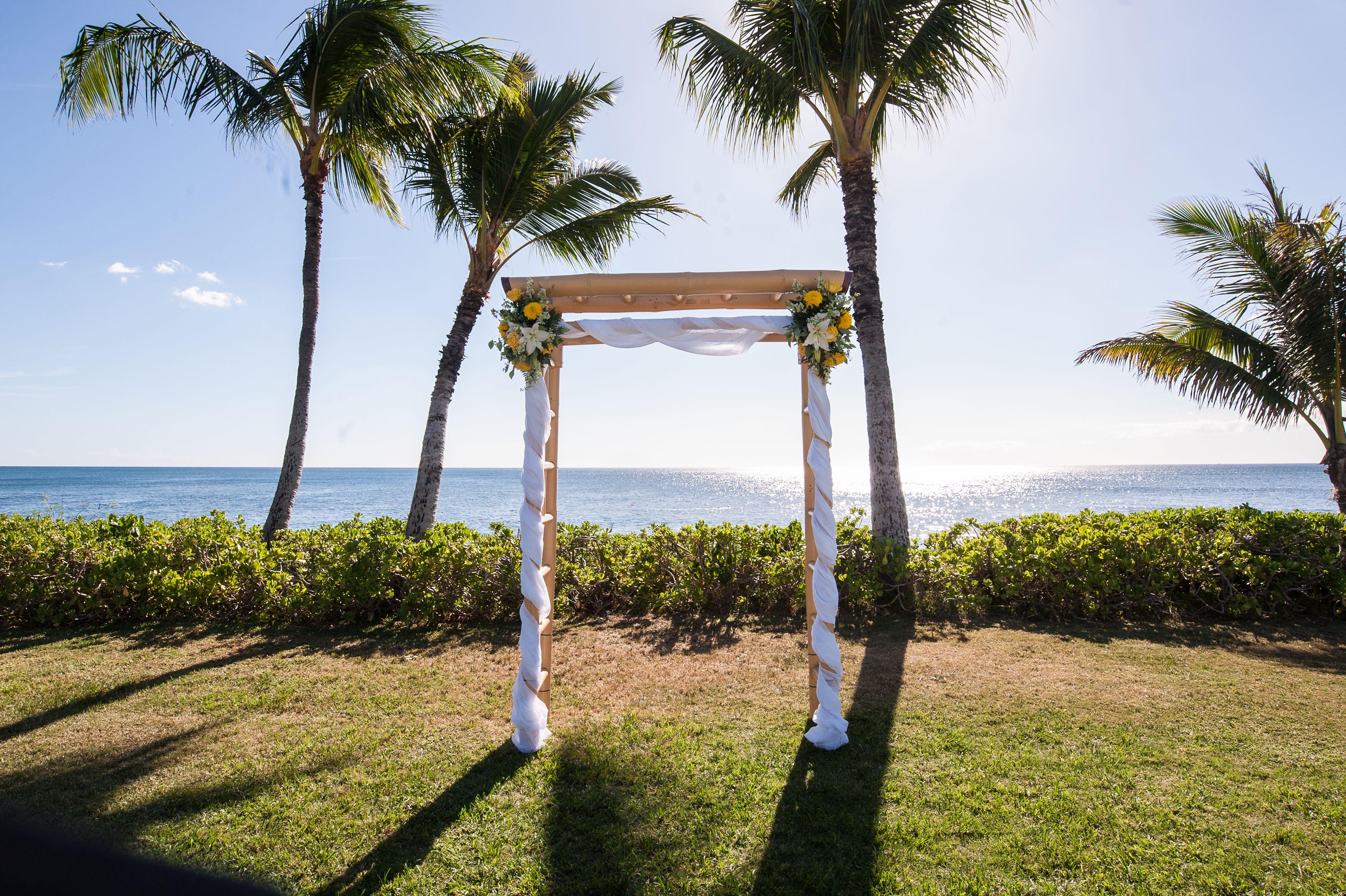 Hawaii Wedding, Ocean Gardens Paradise Cove at Ko Olina ...