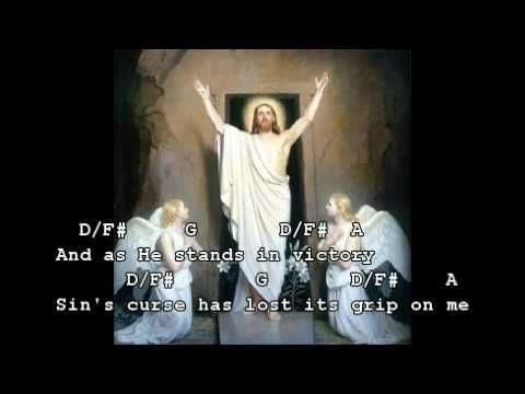 In Christ alone -worship video with lyrics and guitar chords ...