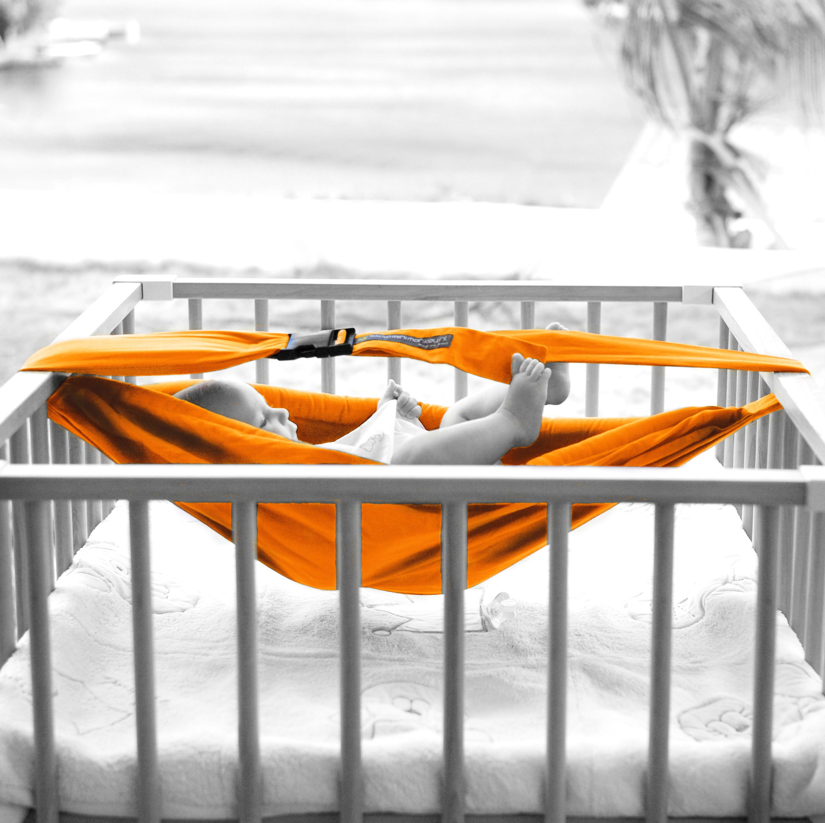 Baby crib hammock - This Is Minimonkey Baby Sling By Family Nation On Vimeo The Home For High Quality Videos And The People Who Love Them
