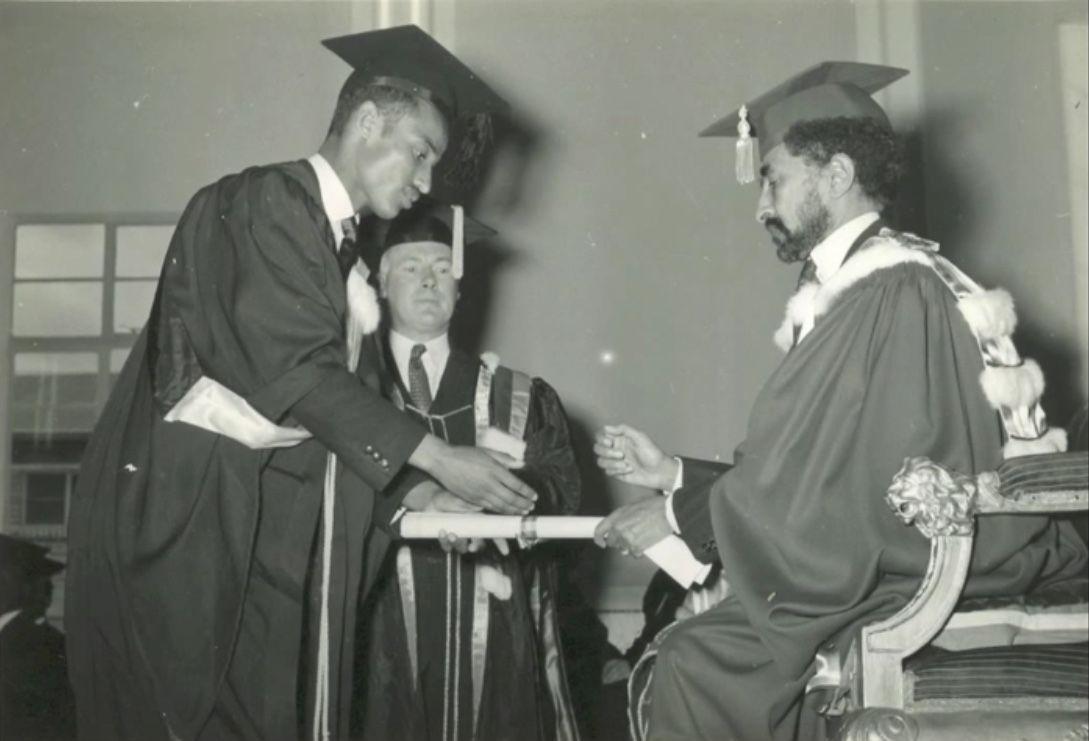 His Imperial Majesty Emperor Haile Selassie awarding Dr Aklilu Habte his  degree in 2020 | Haile selassie, Imperial, Vietnam war