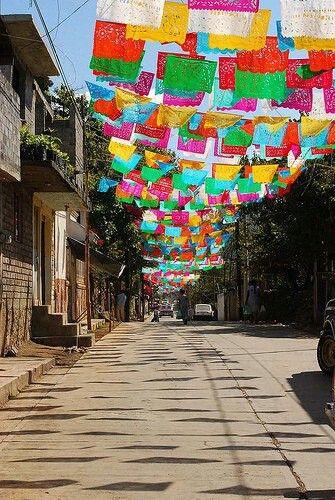 Guirnaldas de papel, Mexico