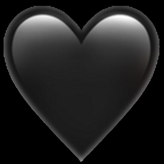 Pin By Tati On Hjartan Black Heart Emoji Heart Emoji Black Heart