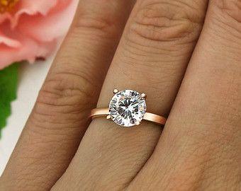 Ahnliche Artikel Wie 3 Ct Machte Verlobungsring Solitar Ring Mann
