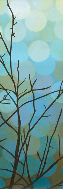 Night Shade I  by Sean Jacobs prints for sale. Night Shade I Nature and Organic canvas, acrylic, custom frame prints. Orientation: vertical . Color tones: blue , green