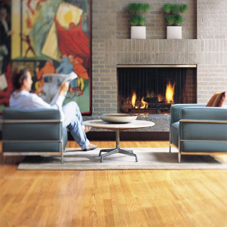 Living Room Flooring Idea Rhapsody Plank Desert Tan By Hartco