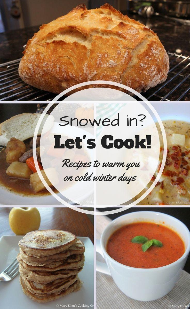 Snowed-in? Let's Cook!