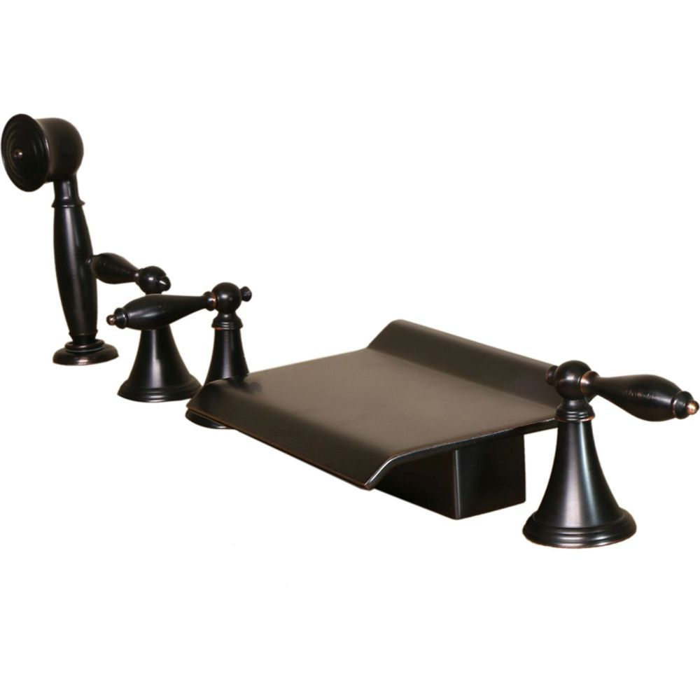 roman tub faucet with hand shower. Kokols 3110ORB Universal Oil Rubbed Bronze Two Handle With Handshower Roman Tub Faucets | EFaucets. Faucet Hand Shower