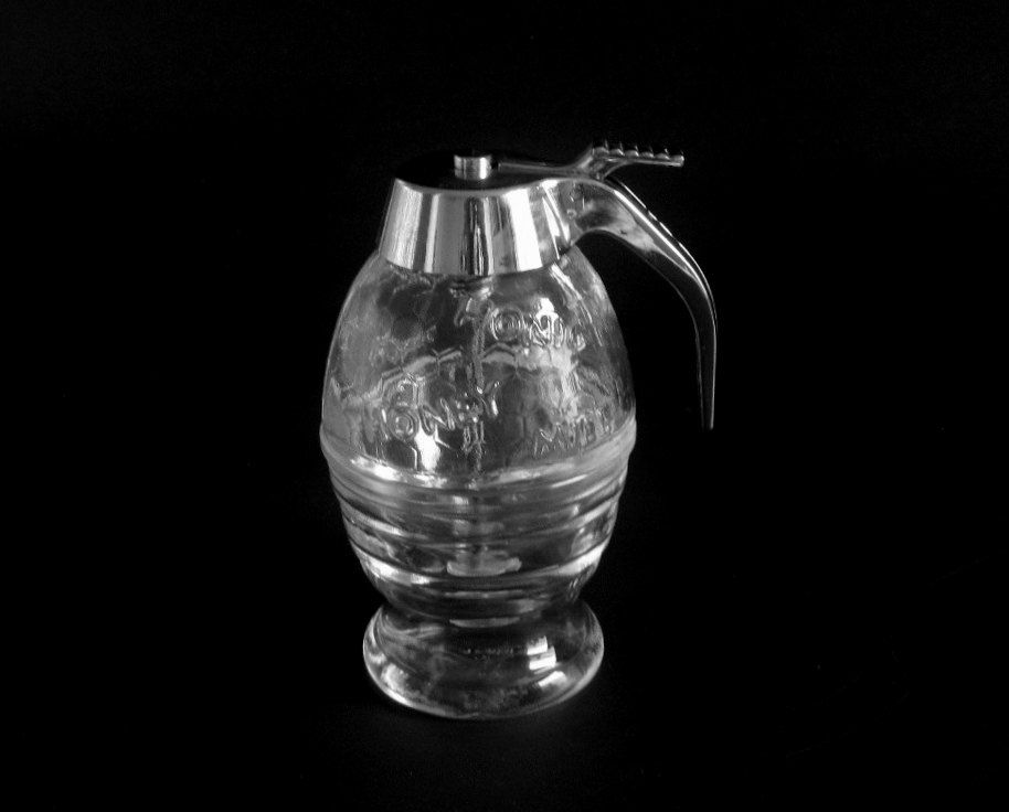 New to LaurasLastDitch on Etsy: BMF Honey Dispenser Jar Made