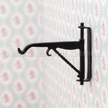 1:12 Miniature Black Metal Hook Hanger For Dollhouse Hardware Accessories Re-ment Decoration(China (Mainland))